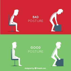 como estar sentado
