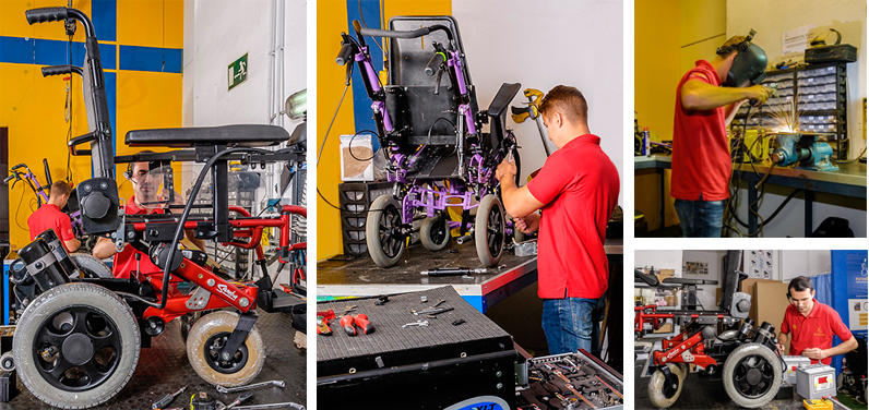 Servicio técnico silla de ruedas