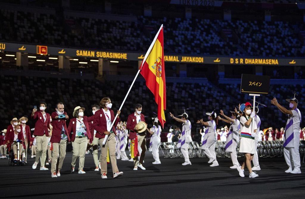 Ceremonia juegos paralimpicos. Fuente: Marca