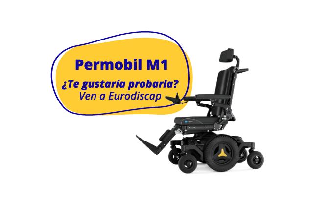 permobil m1- silla de ruedas eléctrica - Eurodiscap