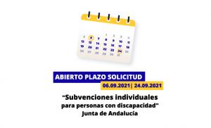 Subvención junta de Andalucía